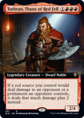 Torbran, Thane of Red Fell - Foil - Extended Art