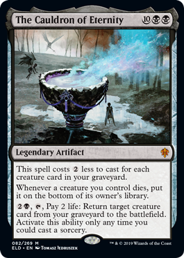 The Cauldron of Eternity - Foil