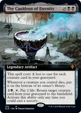 The Cauldron of Eternity (Extended Art)