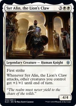 Syr Alin, the Lions Claw - Foil