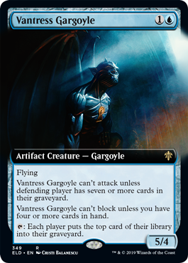 Vantress Gargoyle - Foil - Extended Art