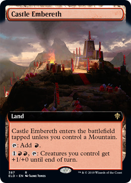 Castle Embereth - Foil - Extended Art