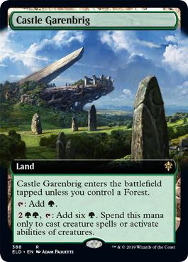 Castle Garenbrig (Extended Art) - Foil