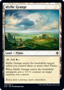 Idyllic Grange