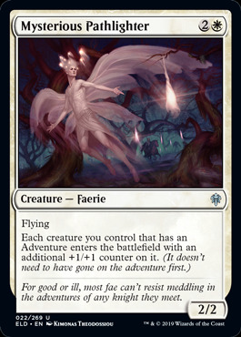 Mysterious Pathlighter - Foil