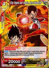 King Vegeta and Vegeta, Royal Bloodline - DB1-090 - R