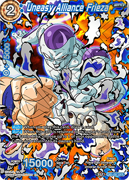 Uneasy Alliance Frieza DB1-097 DPR Dragon Ball Super TCG NEAR MINT