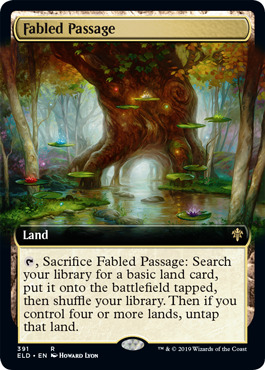 Fabled Passage - Foil - Extended Art