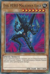 Evil HERO Malicious Edge - LED5-EN017 - Common - 1st Edition on Channel Fireball