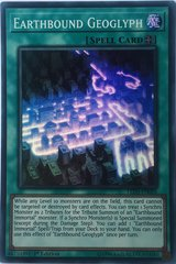 Earthbound Geoglyph - LED5-EN026 - Super Rare - 1st Edition on Channel Fireball