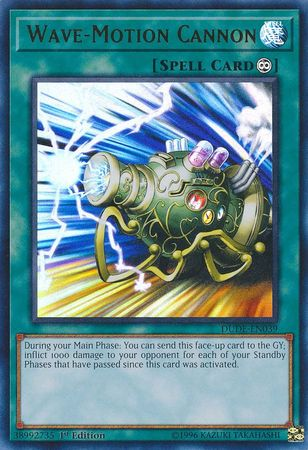 Wave-Motion Cannon - DUDE-EN039 - Ultra Rare - 1st Edition