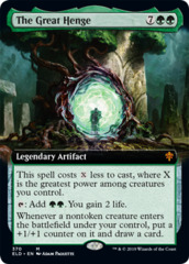 The Great Henge - Foil - Extended Art