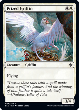 Prized Griffin