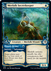 Merfolk Secretkeeper // Venture Deeper - Showcase