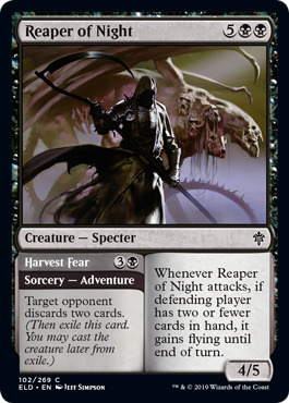 Reaper of Night // Harvest Fear - Foil