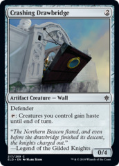 Crashing Drawbridge - Foil