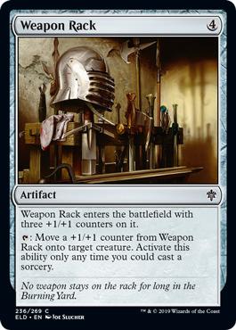Weapon Rack - Foil
