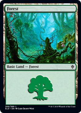 MTG Khans of Tarkir NM Magic Regular 269 4x Forest