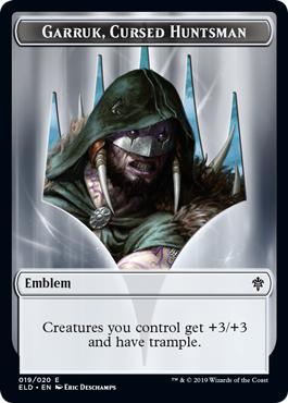 Emblem - Garruk, Cursed Huntsman