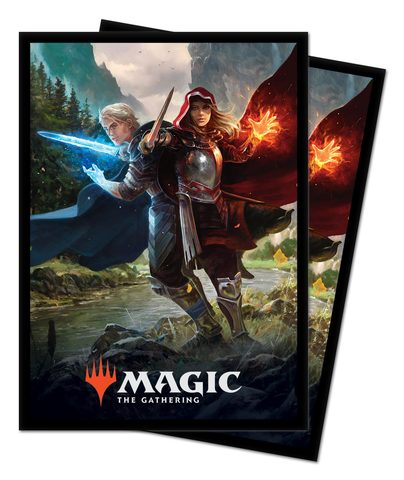 Ultra Pro - MTG Throne of Eldraine The Royal Scions 100 Count Standard Sleeves (18181)