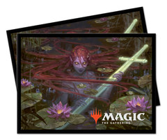 Ultra Pro Standard Deck Protector Sleeves Throne of Eldraine Emry, Lurker of the Lock 100ct