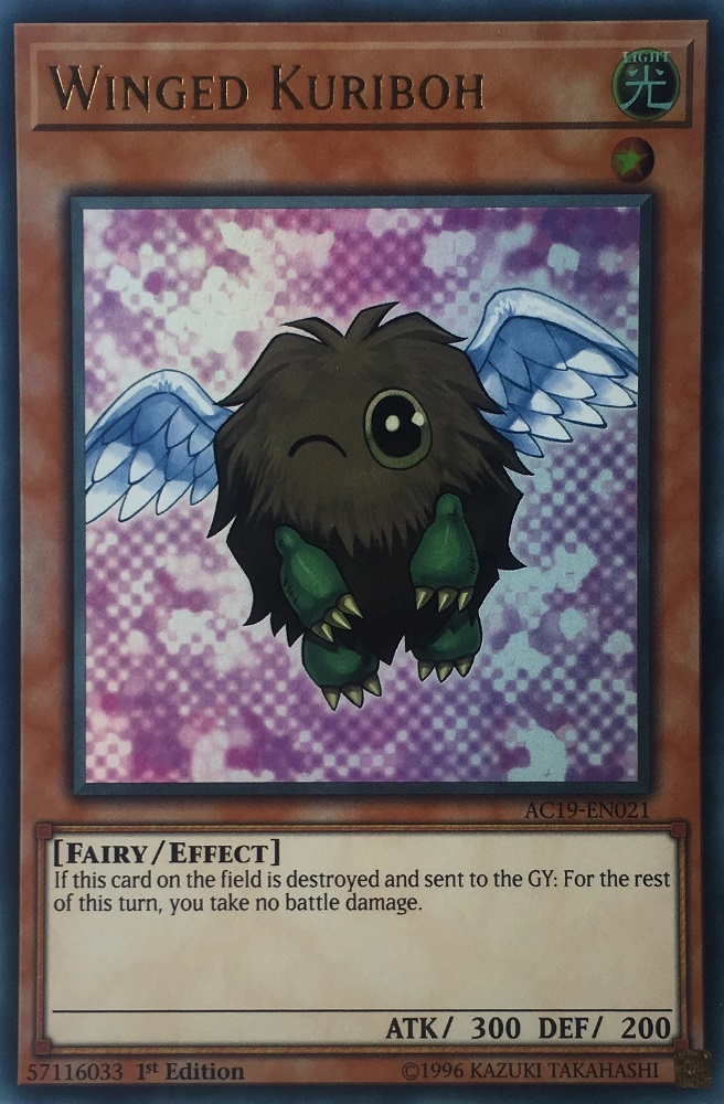 Winged Kuriboh - AC19-EN021 - Ultra Rare - 1st Edition