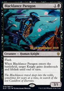 Blacklance Paragon - Foil Prerelease Promo