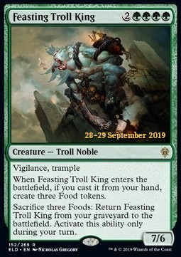 Feasting Troll King - Foil Prerelease Promo