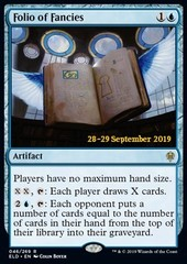 Folio of Fancies - Foil Prerelease Promo