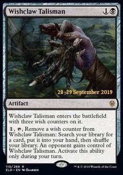 Wishclaw Talisman - ELD Prerelease - Foil