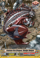 Cannon Fire Dragon, Sledge Ankylo - V-EB09/042EN - C
