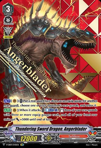 Thundering Sword Dragon, Angerblader - V-EB09/SV01EN - SVR