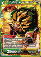 SS Broly, All-Out Assault - EX08-06 - EX - Foil