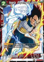 Vegeta, Preparing for Battle - EX07-02 - EX - Foil