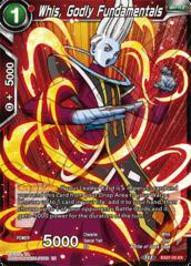 Whis, Godly Fundamentals - EX07-03 - EX - Foil