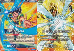 Gogeta // SS Gogeta, the Unstoppable (Alternate-Art) - P-091 - PR