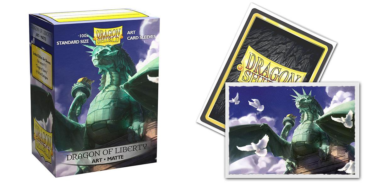 Dragon Shield Sleeves: Dragon of Liberty - (Box of 100)