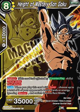 Height of Mastery Son Goku - BT4-075 - PR