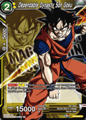 Dependable Dynasty Son Goku - BT4-078 - PR