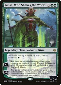 Nissa, Who Shakes the World - Promo Pack