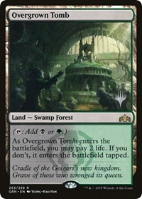 Overgrown Tomb - Foil - Promo Pack