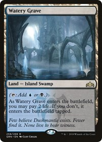 Watery Grave - Foil - Promo Pack