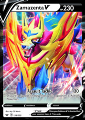 Oversized Zamazenta V - 139/202 - Galar Collection Promo