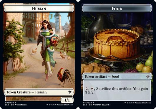 Human Token // Food Token (015) - Foil