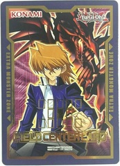 Joey Wheeler & Red-Eyes B. Dragon Field Center Card - Duel Devastator