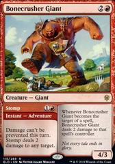 Bonecrusher Giant // Stomp - Foil