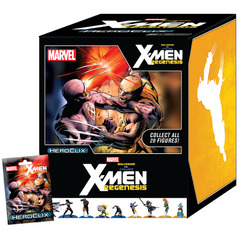 Wolverine vs. Cyclops: X-Men Regenesis Booster Display