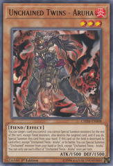 Unchained Twins - Aruha - CHIM-EN008 - Rare - 1st Edition