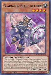 Gladiator Beast Attorix - CHIM-EN012 - Rare - 1st Edition