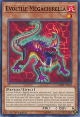 Evoltile Megachirella - CHIM-EN020 - Common - 1st Edition